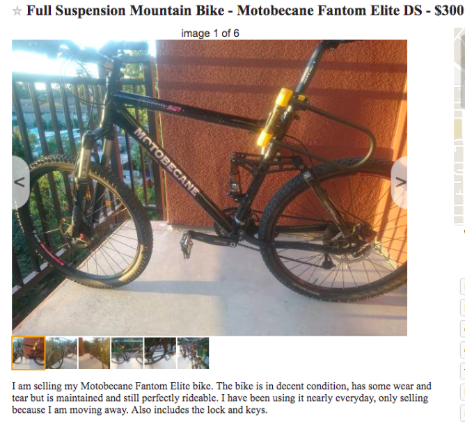 motobecane fantom elite ds